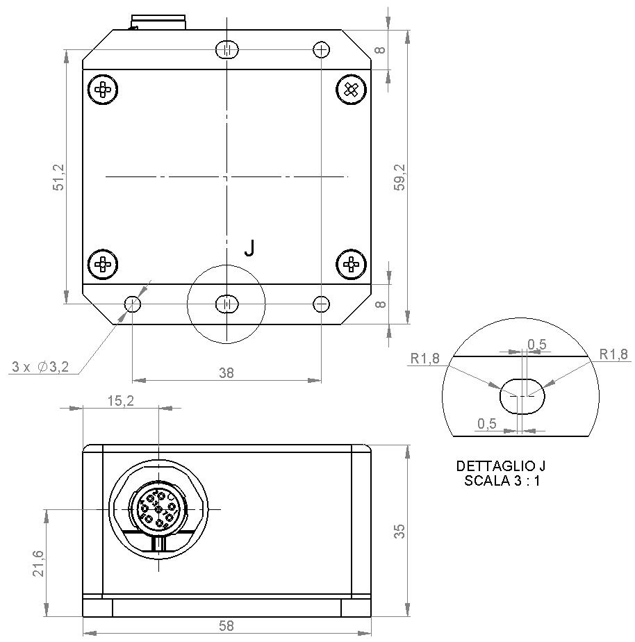 ES270 M12 Dimensions