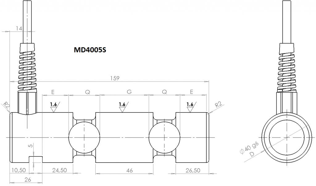 MD4005S OverallDimensions