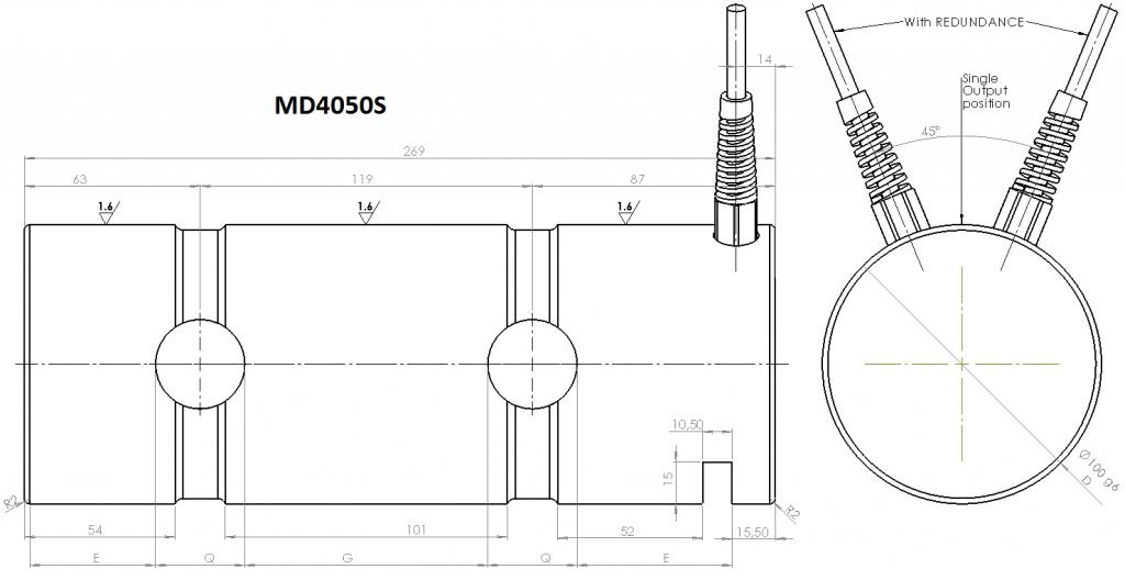 MD4050S OverallDimensions
